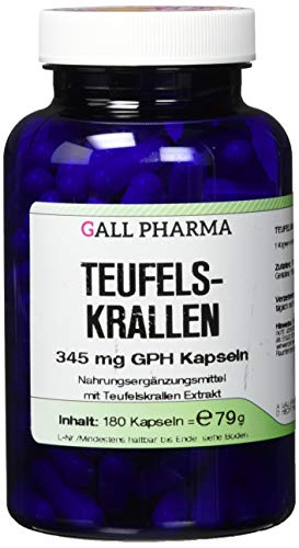 Gall Pharma Teufelskrallen 345mg GPH Kapseln, 180 Kapseln