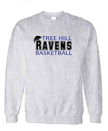 TREE HILL RAVENS football tv show one - Fleece Sweatshirt, M, Ash