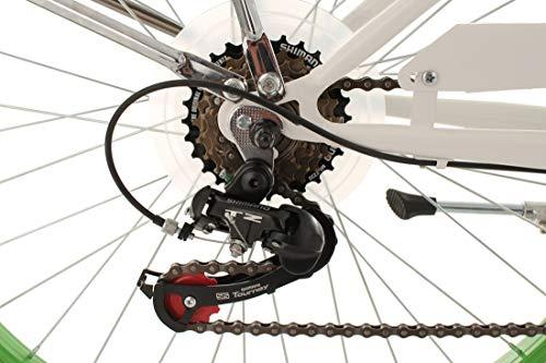 "KS Cycling Beachcruiser Damenfahrrad 26"" Bellefleur 6Gänge RH40cm - 3"
