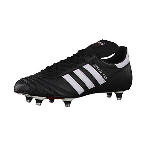 Adidas - World Cup, Scarpe Da Calcio, unisex, (Schwarz/Weiß), 42 2/3 EU