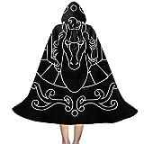 OJIPASD Pegasus - Caja de tela con capucha para niños de San Seiya, caballeros del zodiaco, unisex, capa con capucha para Halloween, Navidad, decoración de fiesta, disfraces de cosplay