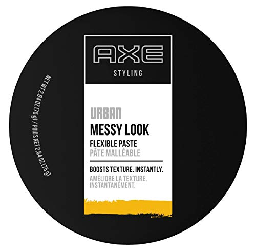 of hair styling waxes dec 2021 theres one clear winner AXE Messy Look Hair Paste Flexible 2.64 oz, pack of 3