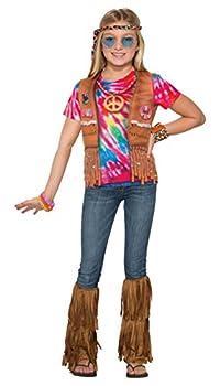 Forum Novelties Child s Photo Real Hippie Costume Shirt Medium