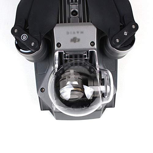 Flycoo Nacelle Cache Protection Cover pour DJI Mavic Pro Accessoires Caméra Protection Clair Capot de Filtre (Clear)(UV)