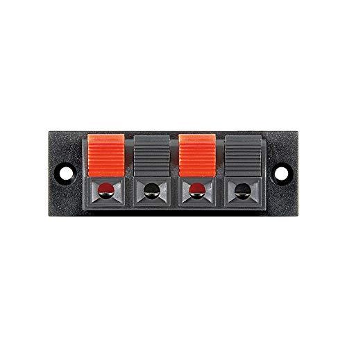 Wentronic LK 04schwarz, rot Aderverbinder–Verbinder Fäden (schwarz, rot)