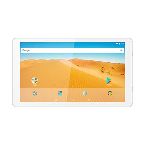 Logicom La Tab 105 Touch Tablet (Screen : 10.1 Inches - 64 GB - Android 7.0 Nougat) White