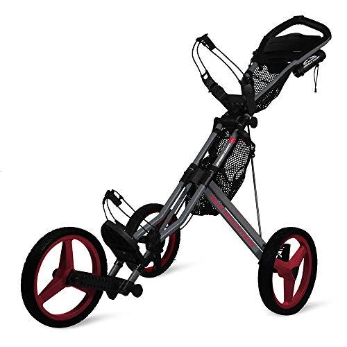 Sun Mountain Speed Cart Gx Push Cart Grey/Red