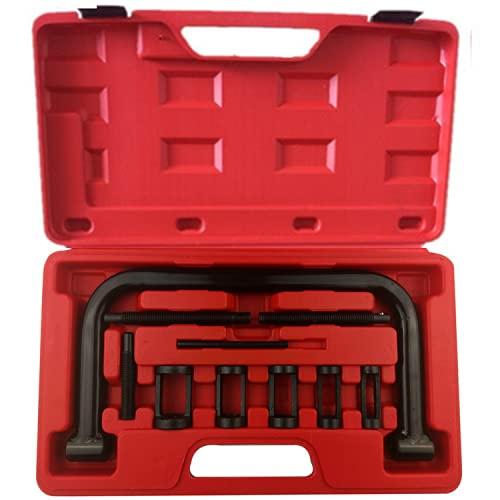 LIZHOUMIL Alicates de resorte de válvula de resorte de válvula de acero aleado, herramienta para coche para ruedas de motor de coche, como se muestra