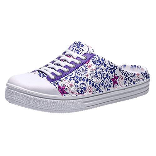 Luckycat Chanclas Zuecos Unisex Adulto Zapatos de Playa y Piscina para Mujer Sandalias de Punta Descubierta Unisex Adulto