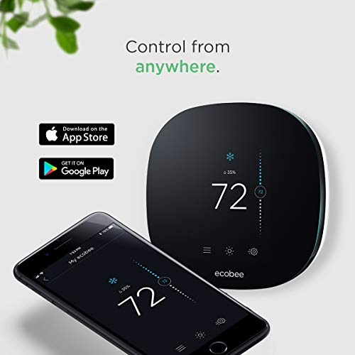 ecobee3 lite Smart Thermostat, 2nd Gen, Black