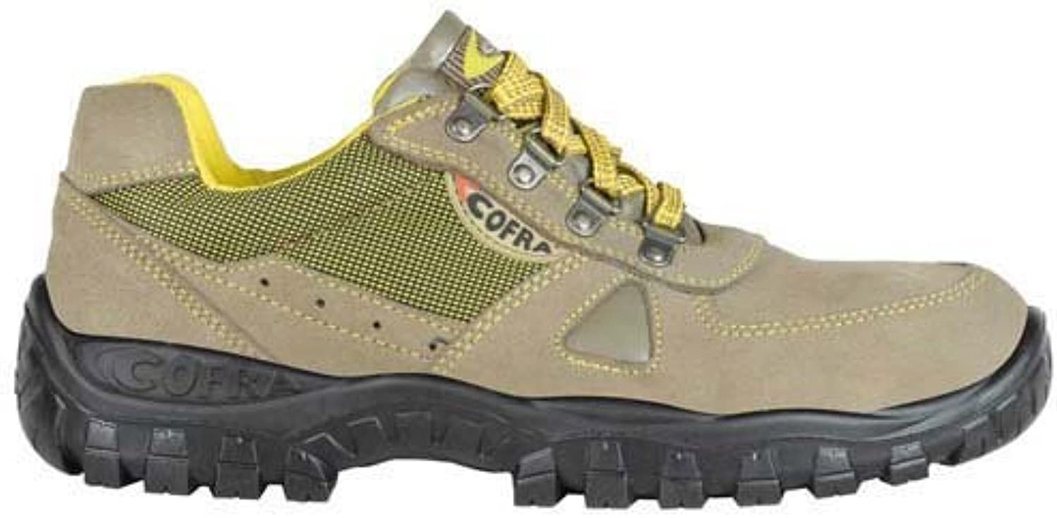 Cofra TA120-000.W40 Work shoes,  Zenith , Size 6.5, Brown - EN safety certified