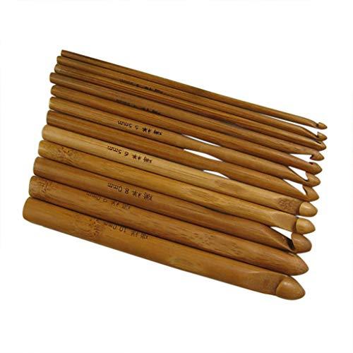 FiedFikt Trui Naald Gehaakte Trui Gehaakte Tuin Bamboe Haak 12 Aantal Trui Naald Gehaakte Tool