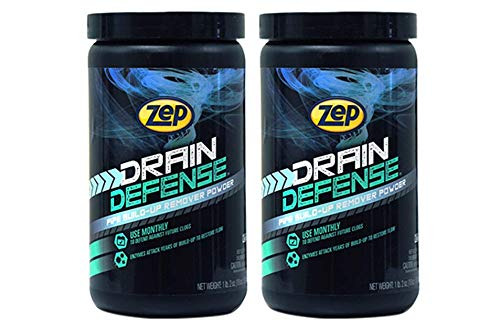 Zep Drain Defense Enzymatic Drain Care Powder ZDC16 (Pack of