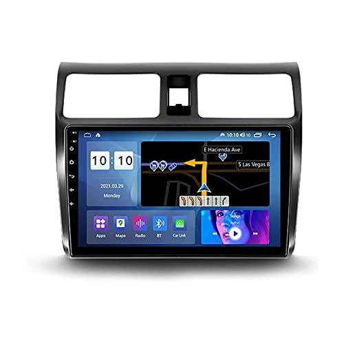 Android 10.0 coche Radio Stéreo Para Swift 3 2003-2010 Multimedia Player FM Reproductor GPS Navegación IPS Pantalla Táctil Soporte 4G Wifi SWC Carplay Bluetooth DSP,4 Core WiFi: 1+16GB