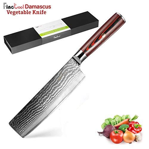7 inch Japanese Damascus Steel Nakiri vegetable Knifes chef knife kitchen knife pakka wood Handle Best Sharp High Cooking Knife