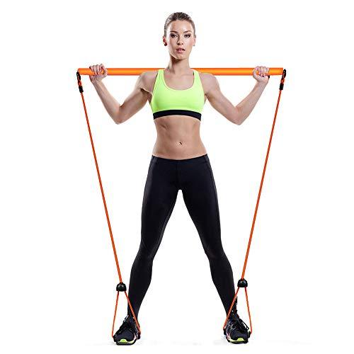 Haushaltsschneider Sport Fitness Bodybuilding Expander, Resistance Bands Yoga Crunches Elastic Pull Rope, Foot Abdomen Trainer, Belly Slimming Body Shaper, Sit-ups Trainingsgeräte