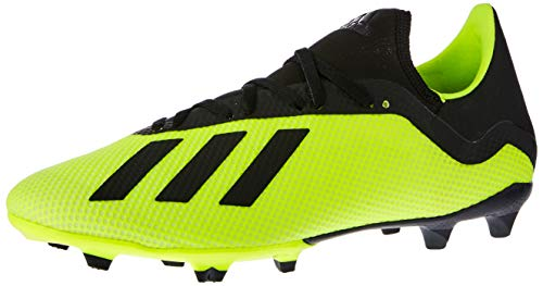 adidas X 18.3 Fg, Scarpe da Calcio Uomo, Giallo (Syello/Cblack/Ftwwht Syello/Cblack/Ftwwht), 39 1/3 EU