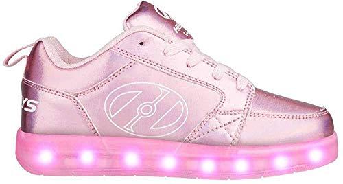 Heelys Unisex-Kinder Premium 2 Lo (he100432) Skateboardschuhe, Pink (Light Pink Hologram 000), 36.5 EU