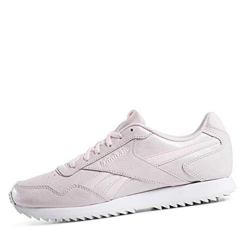 Reebok Royal Glide Ripple - Zapatillas para Mujer, Rosa (Porcelain Pink/White/Wow) 38 EU