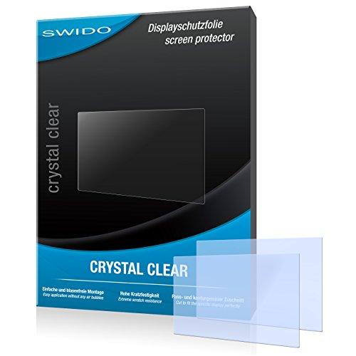 SWIDO Displayschutz für Sony Alpha 7 II [4 Stück] Kristall-Klar, Hoher Härtegrad, Schutz vor Öl, Staub und Kratzer/Schutzfolie, Displayschutzfolie, Panzerglas Folie