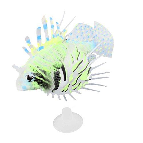 Sourcingmap Kunststoff schwimmende Glowing Wackelnder Schwanz Rotfeuerfisch Aquarium Ornament de