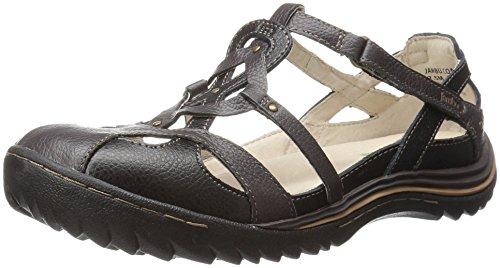 Jambu Women's Spain Walking Shoe, Black Earth, 8.5 M US