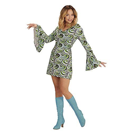 WIDMANN Costume per adulti anni ?70 da donna