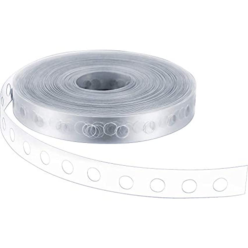 Oxilux Balloon Decorating Strip Tape 50 Ft Long to Make Arch Garland Steamer Ideal for Patty Decorations, Birthday, Mariage Decorations and Baby Shower.