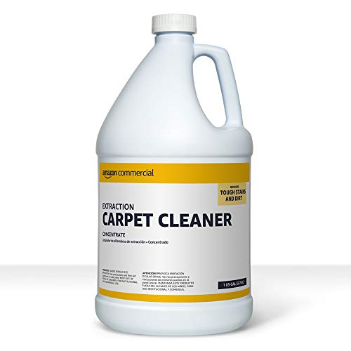 AmazonCommercial Extraction Carpet Cleaner, 1-Gallon, 2-Pack