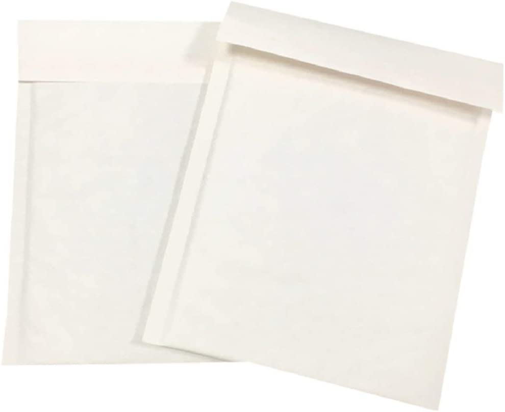 ProLine #0 6 x 10 White Kraft Bubble Mailers Padded Self Sealing Extra Wide Shipping Envelopes 25