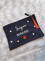 Trousse SUPER MAMIE- cadeau personnalisable Fête des mamies/grand-mères