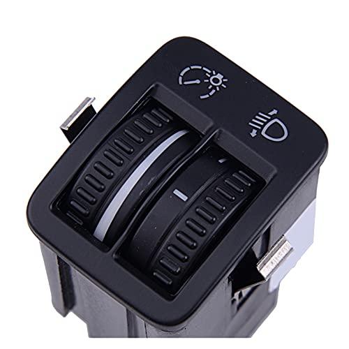ZHIXIANG Gauge Cluster Faro Ajustar el Controlador del Interruptor Dimmer 5N0941333 5ND941333 FIT FOR VW TIGUAN 2008-2011 2012 2013 2014 2015 2015