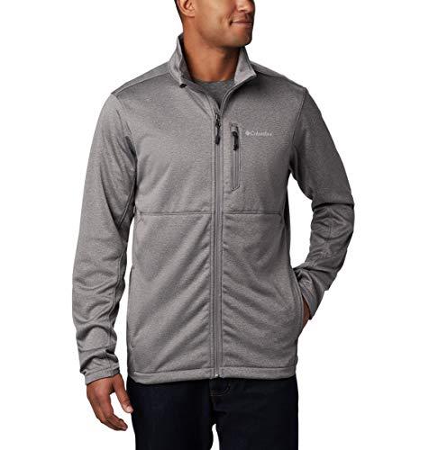 Columbia Herren Sportbekleidung Fleece Outdoor Elements Full Zip, Stadt Grau, XL, 1862051