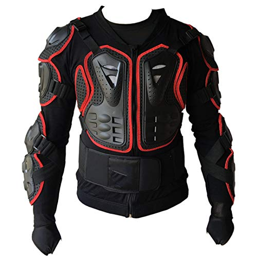 Gratydallks Professionelle Cross Bike Body Armor Motorschutzjacke Downhill Mountin Bike Armor RED XXXL