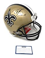 Drew Brees New Orleans Saints Signed Autograph Full Size Authentic Proline Helmet Steiner Sports Certified