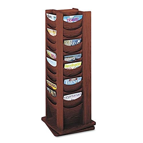 Safco Products Solid Wood Rotating Display, 48 Pocket -$194.12(74% Off)