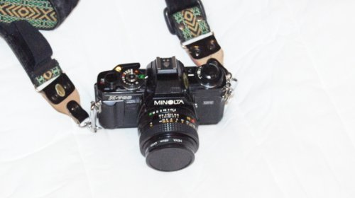 Minolta X-700 35mm Film SLR with Minolta MD 50mm 1:2 Manual Focus Lens