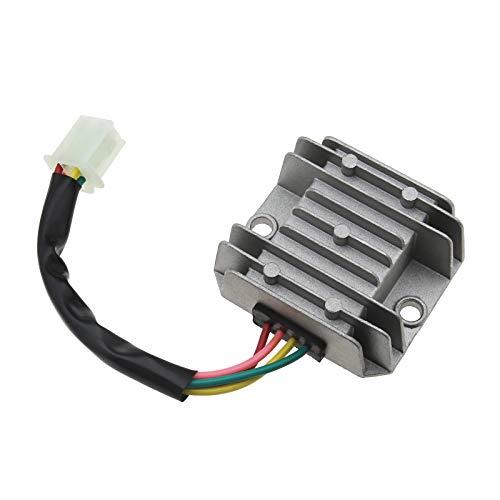 4 Drähte 4 Pin 12V Spannungsregler Gleichrichter für CG 125 150 200 250CC Motorräder Roller Quadfahren