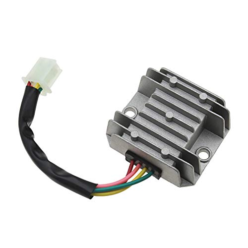 4 cables 4 pines 12 V regulador de voltaje rectificador para motocicletas CG 125 150 200 250 CC ciclomotores y quads