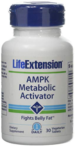 Life Extension Ampk Metabolic Activator, 30 Vegetarian Tablets, 1 Units