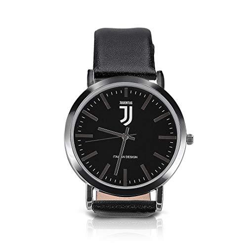 Juventus Reloj de Deluxe con Logo Negro