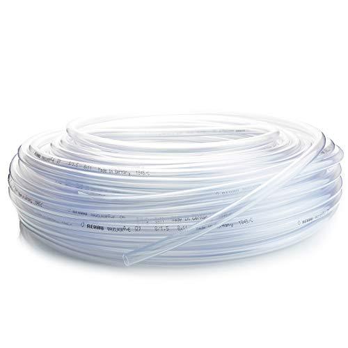 [DQ-PP] PVC Schlauch 8/11mm Wasserschlauch Klar Luftschlauch Druckluftschlauch
