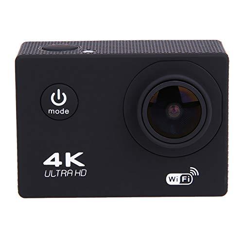 Myconvoy 4K Ultra HD Sportkamera - DREI-Achsen-Smart-Kamera Sportkamera 4K Outdoor-Fahrradkamera 2-Zoll-HD-Display-Kamera