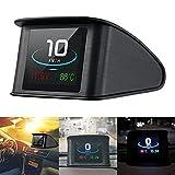Auto Car HUD Head Up Display digital velocímetro inteligente Smart Digital Velocímetro Pantalla LCD OBD 2 Escáner Herramienta de diagnóstico