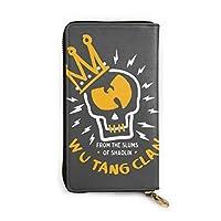 ロングウォレット Wu Tang Clan ウータン クラン ラグラン (1) 携帯に便利 男女通用 長財布 小銭入れ 本革 ファスナー 大容量 携帯電話 ロングウォレット おしゃれ お札 小銭入れ