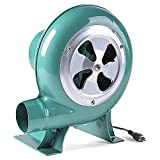 Ventilador de Aire centrífugo Ventilador de Bomba eléctrico Ventilador de Barbacoa Encendedores de Barbacoa Ventilador de Hierro Forjado Manual Ventilador de mechero,30W / 40W / 60W / 80W / 100W (