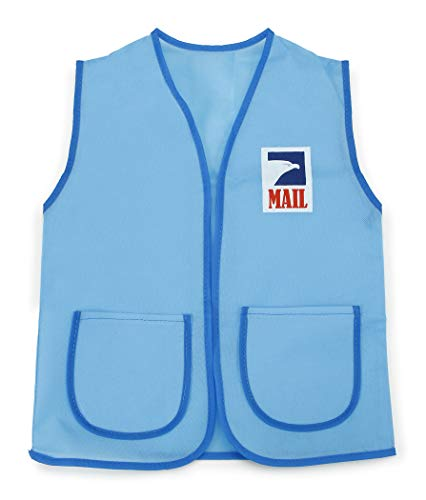 Darice Dress Up Vest - Postal Carrier - 16 x 20 inches