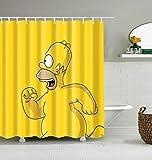 profession DuschvorhangNeuer Cartoon-Muster-Maus-Duschvorhang Wasserdichter niedlicher Tier-Duschvorhang mit Haken für Badezimmer-Dekor-Geschenke