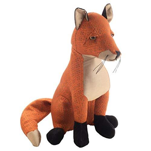 Dora Designs Sitzender Fuchs Türstopper – Finlay The Orange Fox