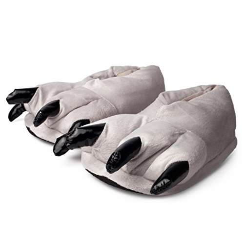 Katara- Zapatillas con Garras (6+ Modelos) Patas de Animales Niños Carnaval Halloween, Color gris, eu 29-36 (1773) , color/modelo surtido